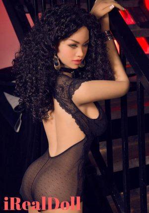 Kelly 156cm E Cup Black Sex Doll -irealdoll TPE love doll