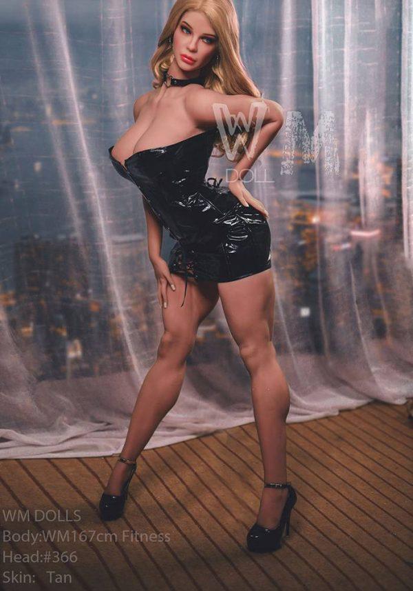 Sian 167cm Fitness Sex Doll -irealdoll TPE love doll