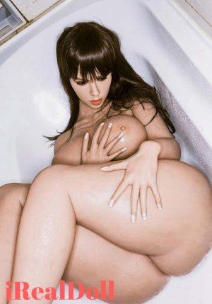 Sylvia 163cm H Cup BBW Chubby Sex Doll -irealdoll TPE love doll