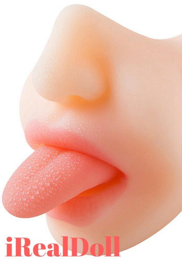 Top Mistress Vibrating Mouth Stroker -irealdoll TPE love doll