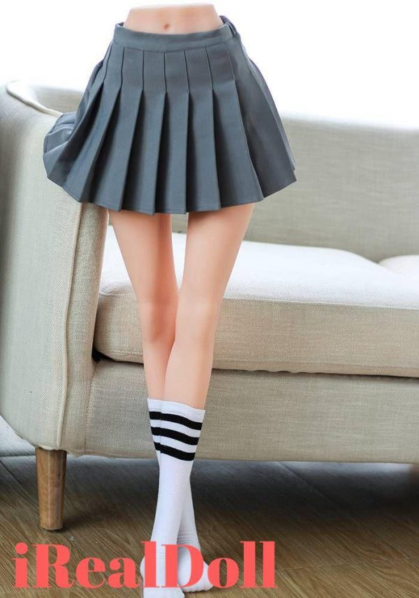 100cm Pleated School Uniform Love Doll Legs -irealdoll TPE love doll