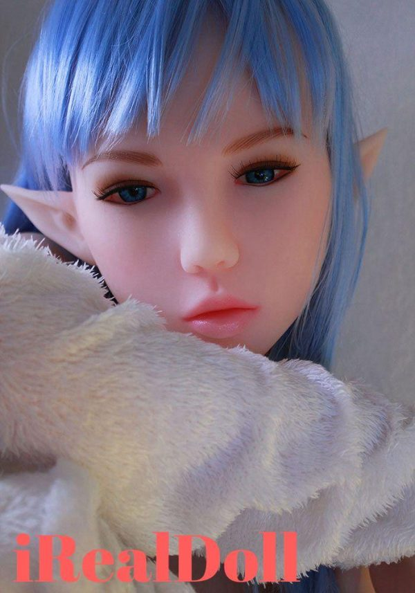 145cm Fit Body Sex Doll With Blue Purple Wig -irealdoll TPE love doll