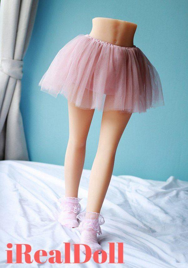 70m Pleated Skirt Curvy Love Doll Legs -irealdoll TPE love doll