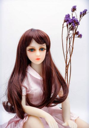Blonde Mini Sex Doll 63CM – Nannie -irealdoll TPE love doll