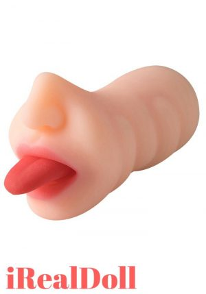 Tongue Licking Swinging Mouth Stroker -irealdoll TPE love doll